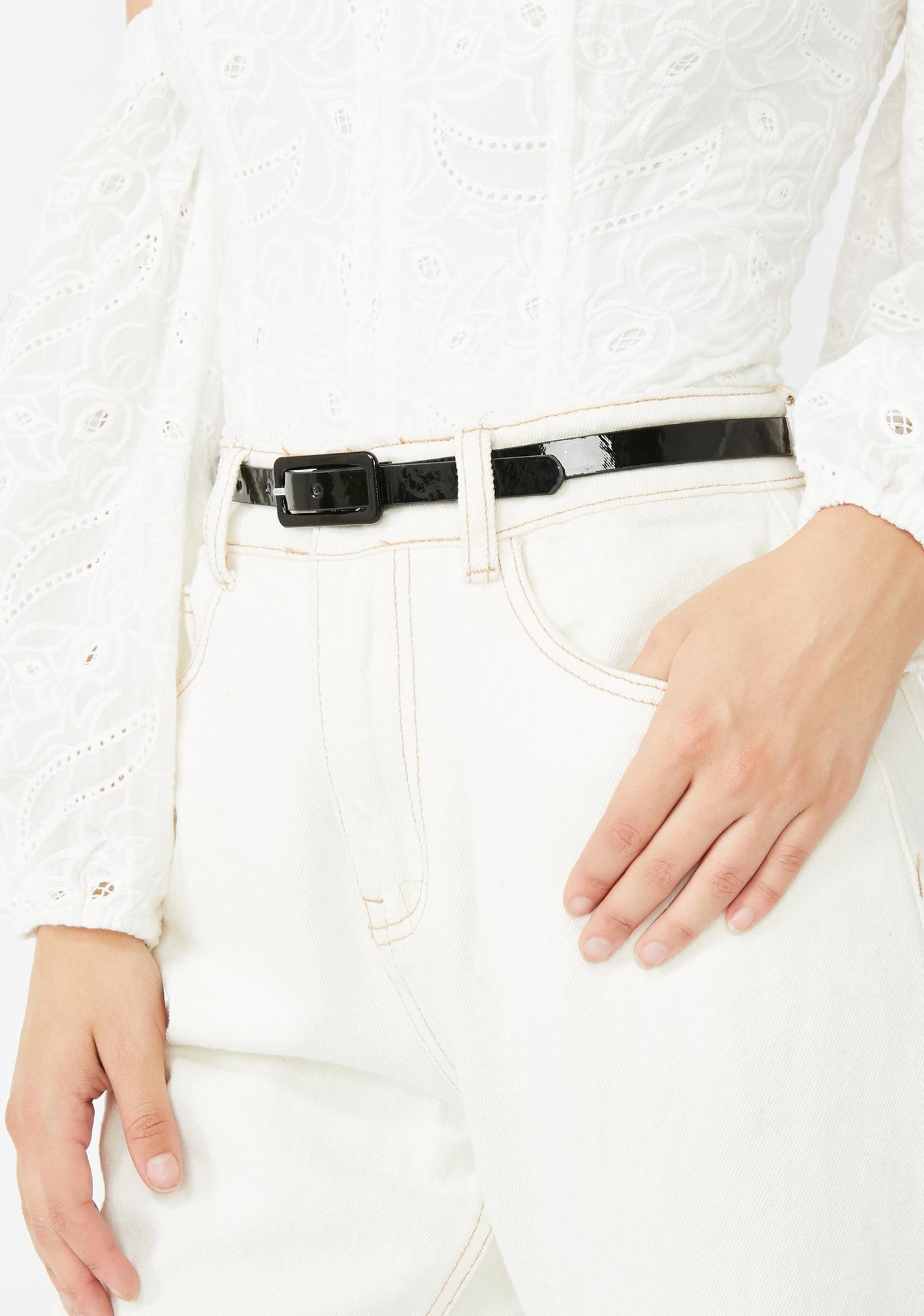 Shopaholic Needz Buckle Belt