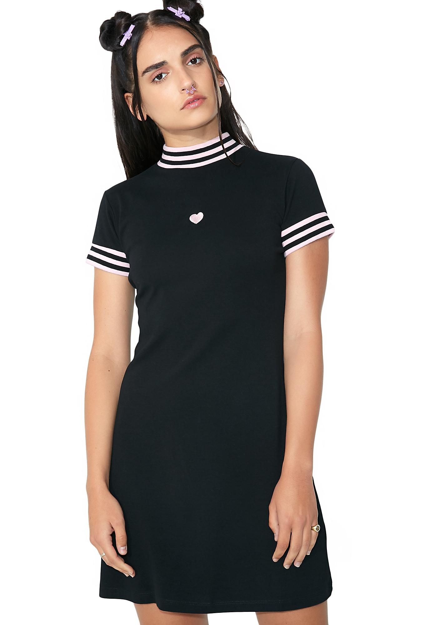 f5913f2c506 Lazy Oaf Sports Stripe Dress