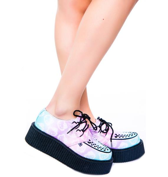 T.U.K. Hello Kitty Ombre Mondo Creeper