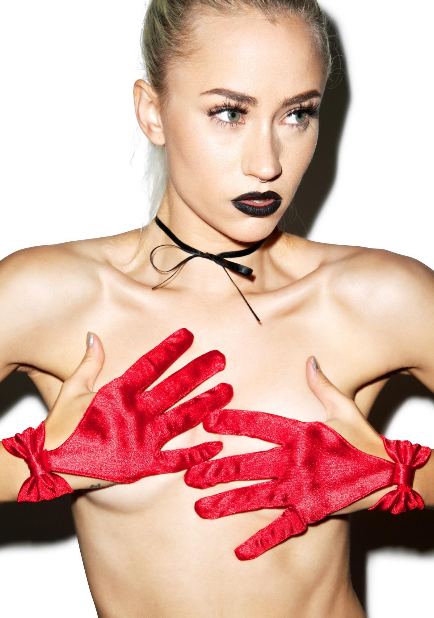 Cut-Throat Cut Out Gloves