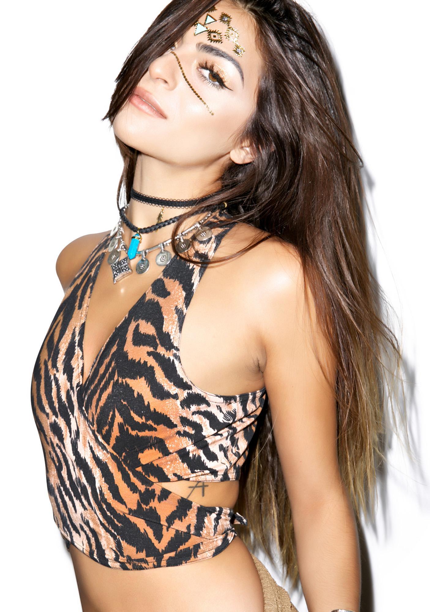 American Deadstock Wildcat Tie Top