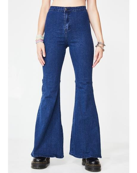 Groove Mood Flared Jeans