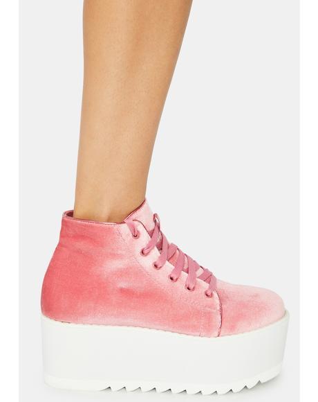 Rose Barletta Platform Sneaker