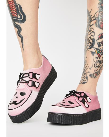 Pink Velvet Krypt Jackolantern Keepers