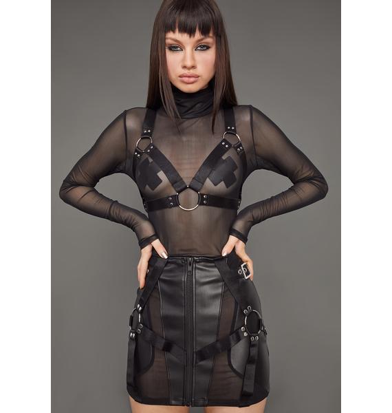 Poster Grl Naughty Habits Mini Skirt