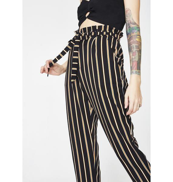 Yacht Club Striped Trousers