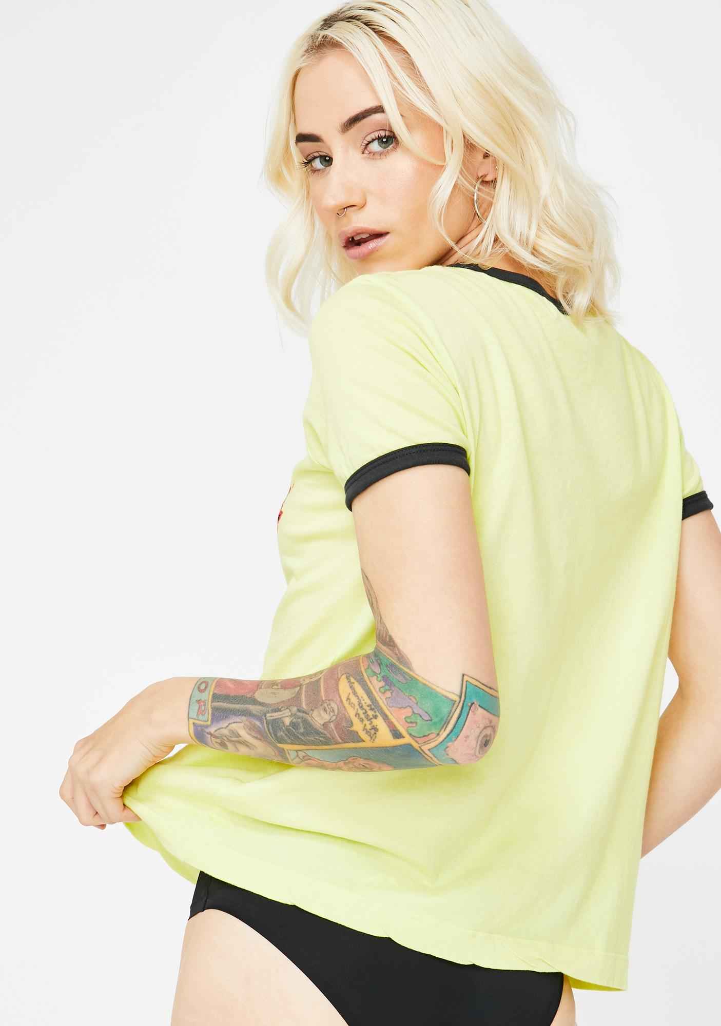 Wildfox Couture Hellish Johnny Ringer Tee