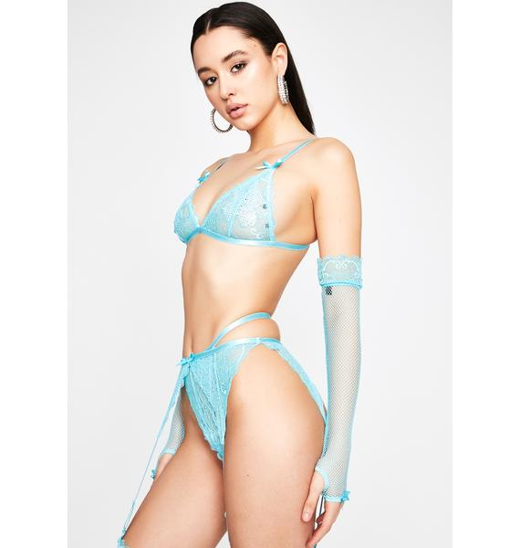 HOROSCOPEZ Get My Good Side Lingerie Set