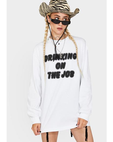 On The Job Graphic Long Sleeve