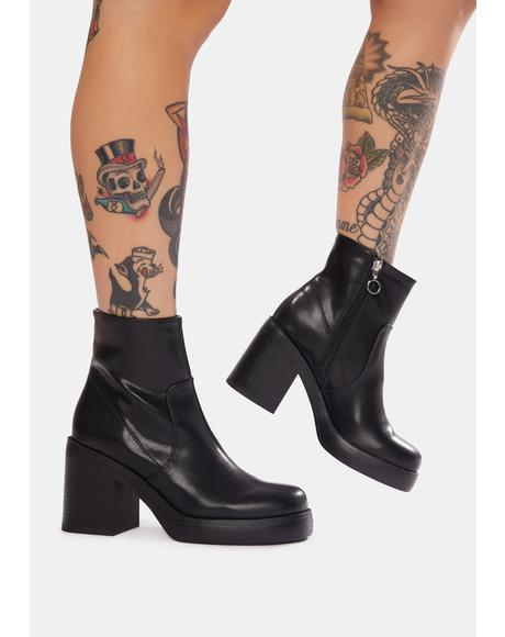 Groovy Combat Boots