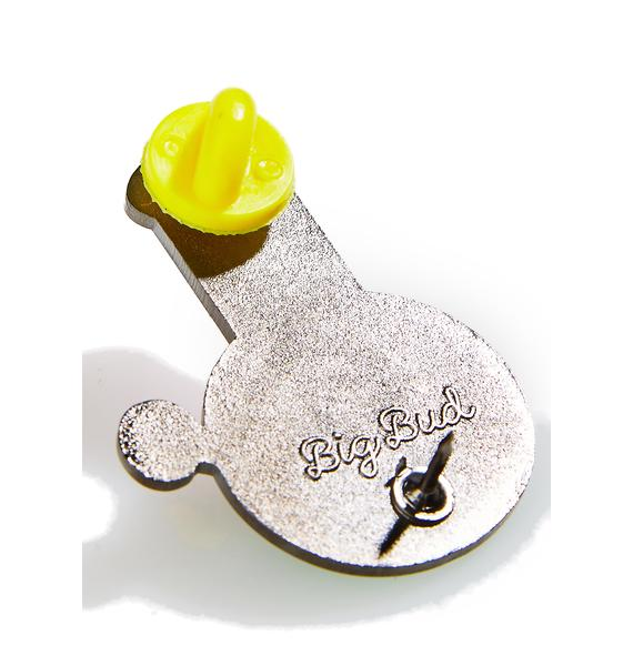 Big Bud Press Bong Buddy Enamel Pin