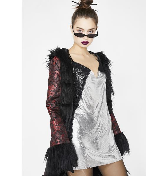 Kiki Riki Lustful Armour Chainmail Dress