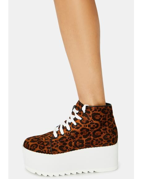 Leopard Barletta Platform Sneaker