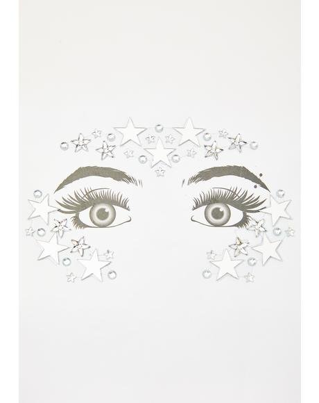 Universal Truth Face Jewels N' Loose Glitter Set