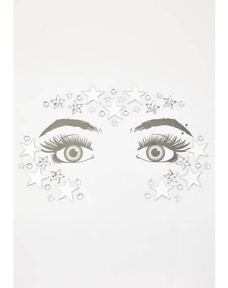 Universal Truth Face Jewels N Glitter Set