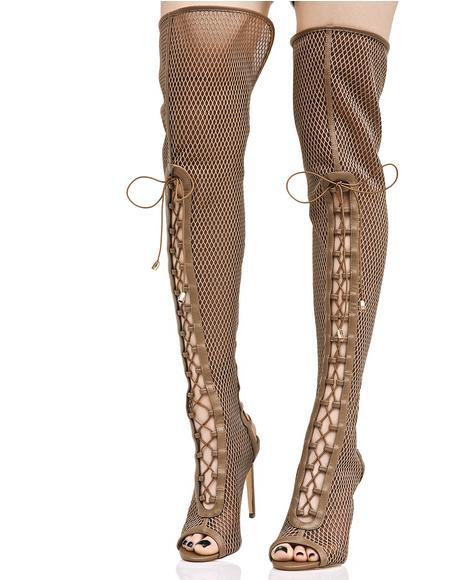 Slay The Game Thigh-High Boots