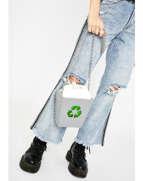 Recycle Bin Crossbody Bag