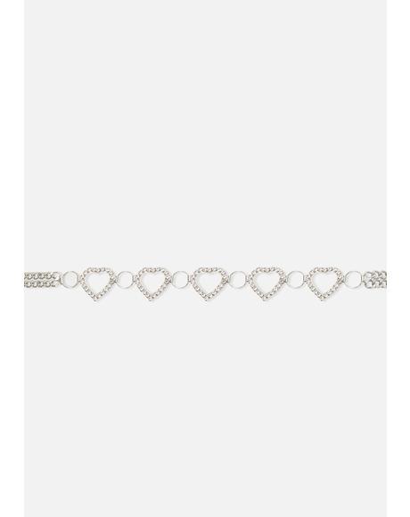 Love Affair Chain Belt