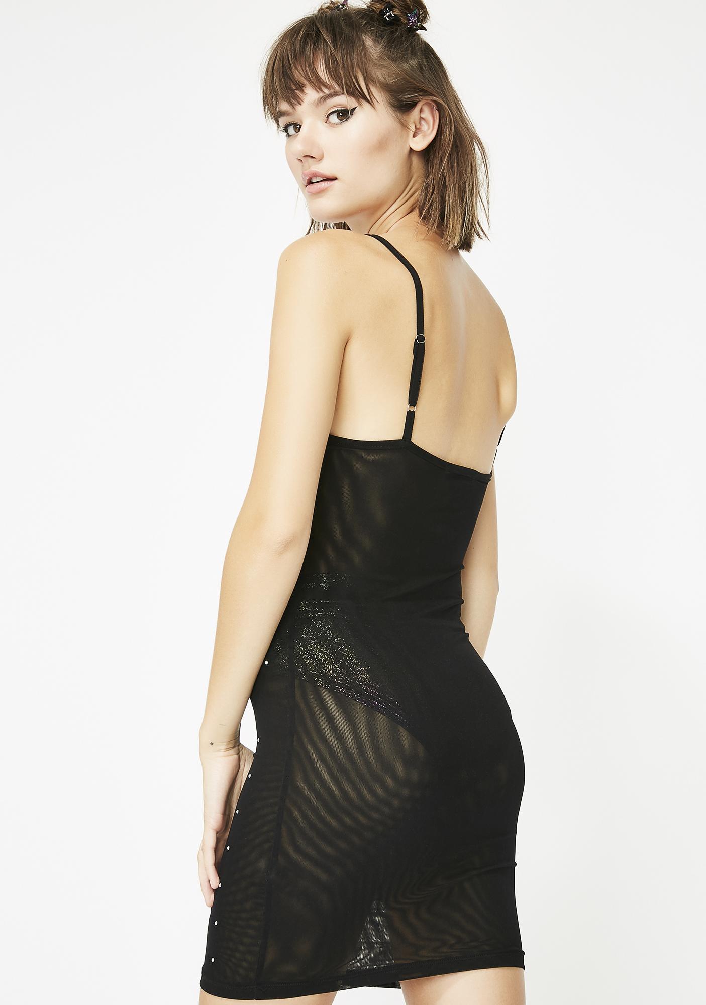 Hurry Hurry Mesh Dress