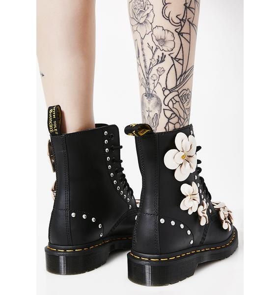 Dr. Martens 1460 Pascal Flower Boots