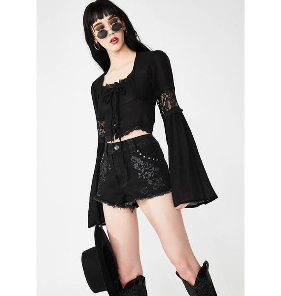 Killstar Esme Shorts