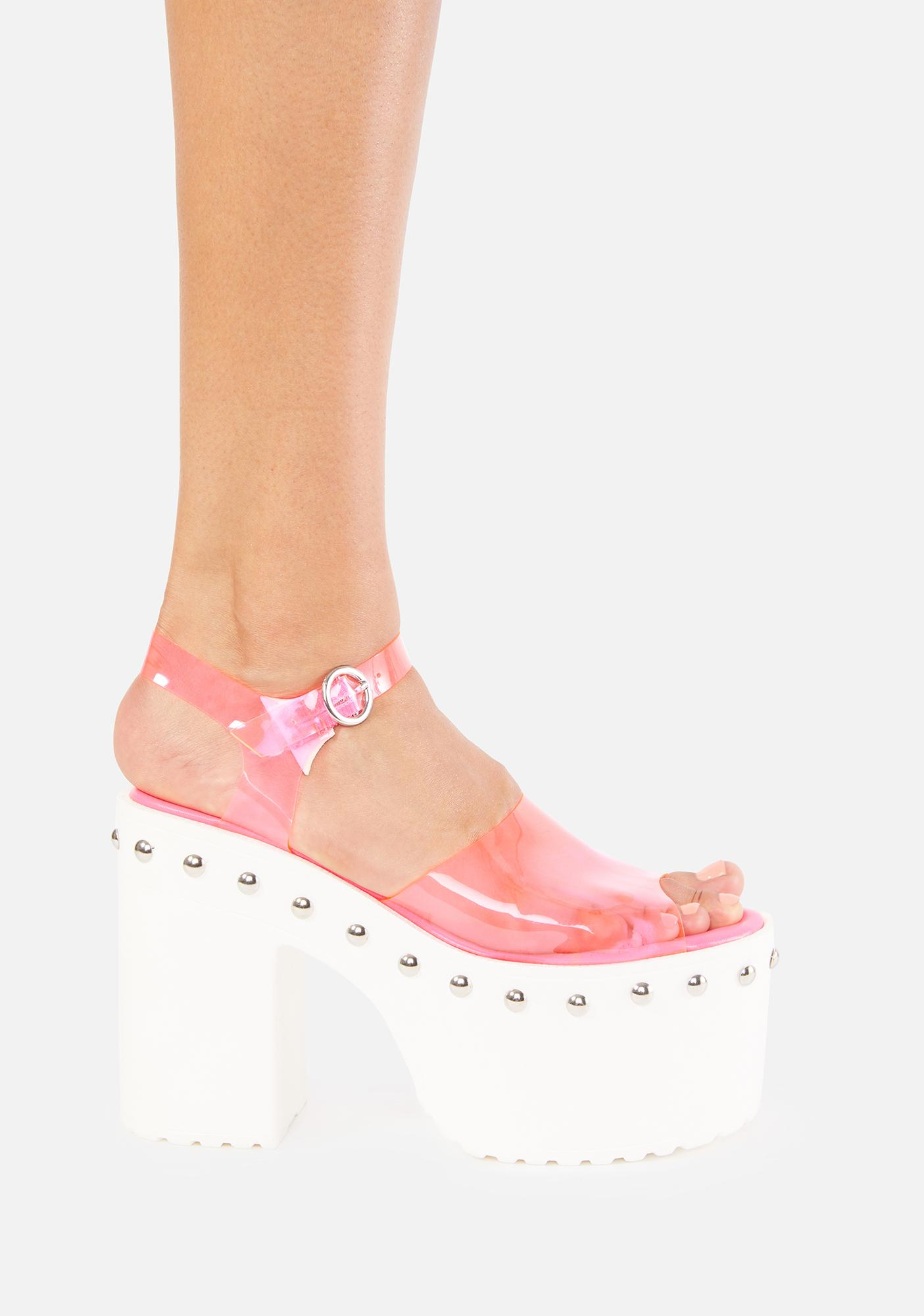 Pixie Differ From Reality Platform Heels