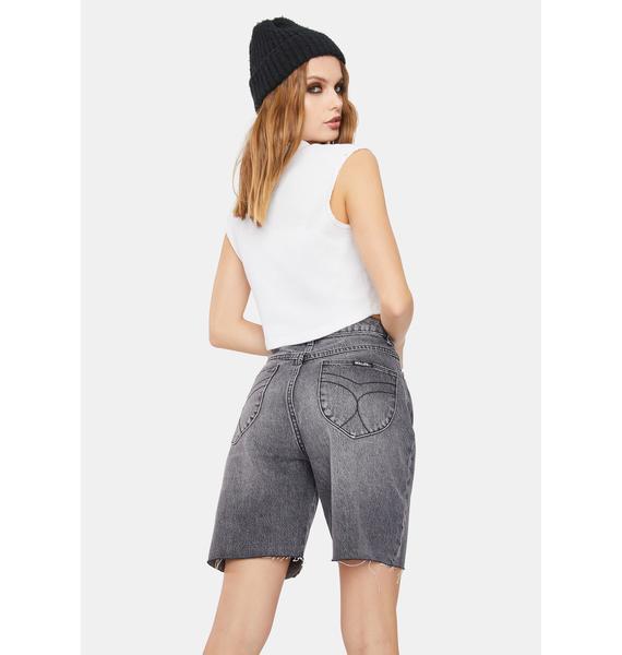 Rollas Classic 90s Cutoff Denim Shorts