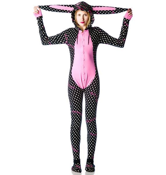 Too Fast Animalistic Zombunny Pajamas