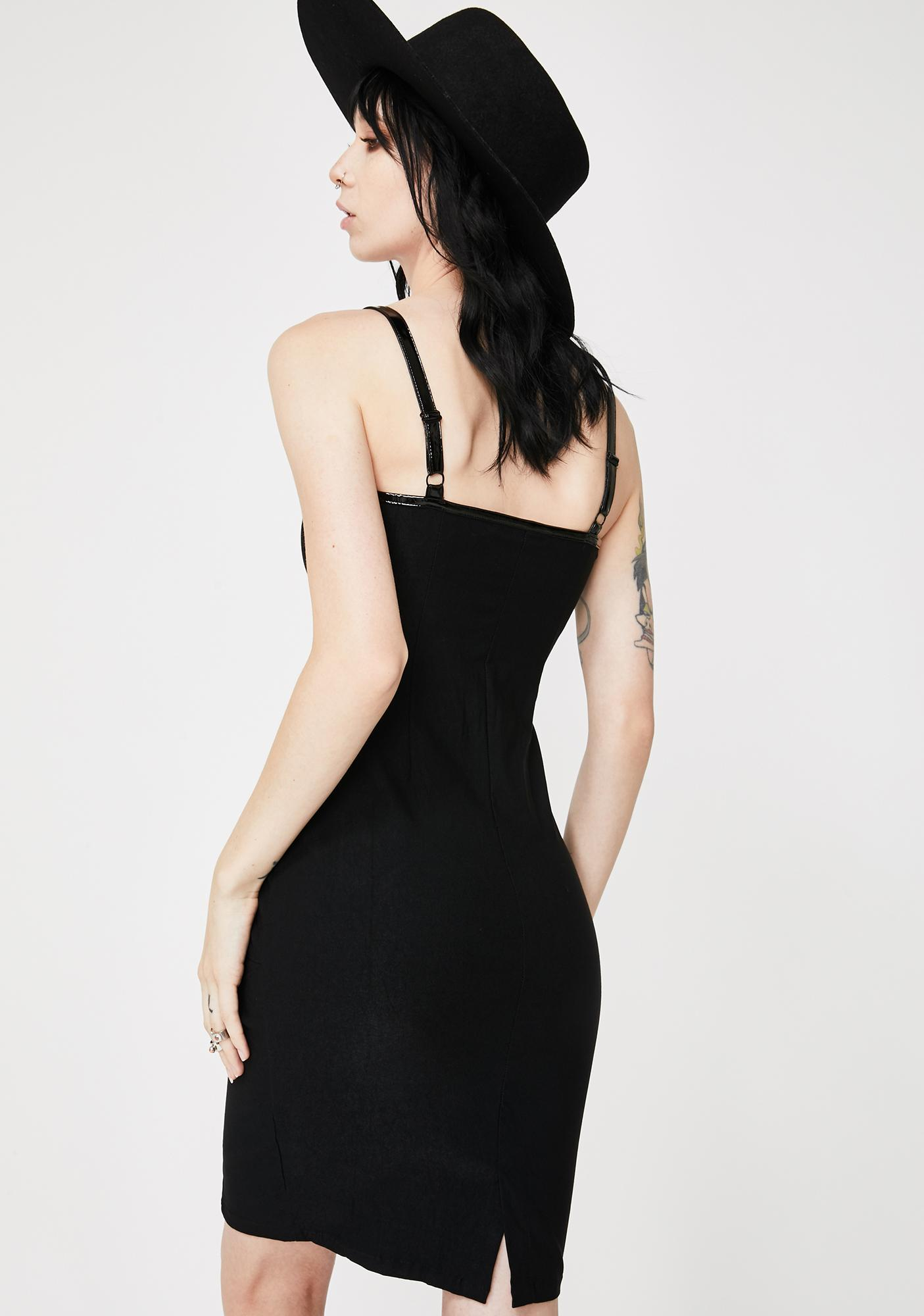 Killstar Darklands Midi Dress
