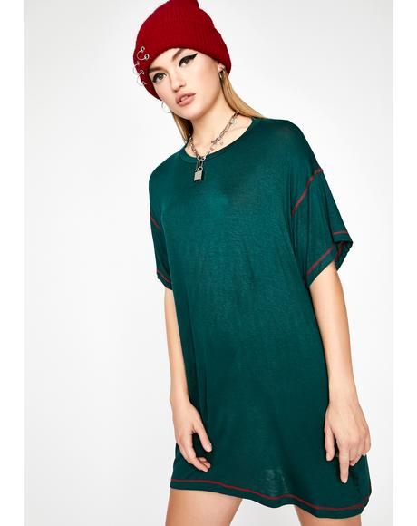 Emerald Untold Tendencies T-Shirt Dress