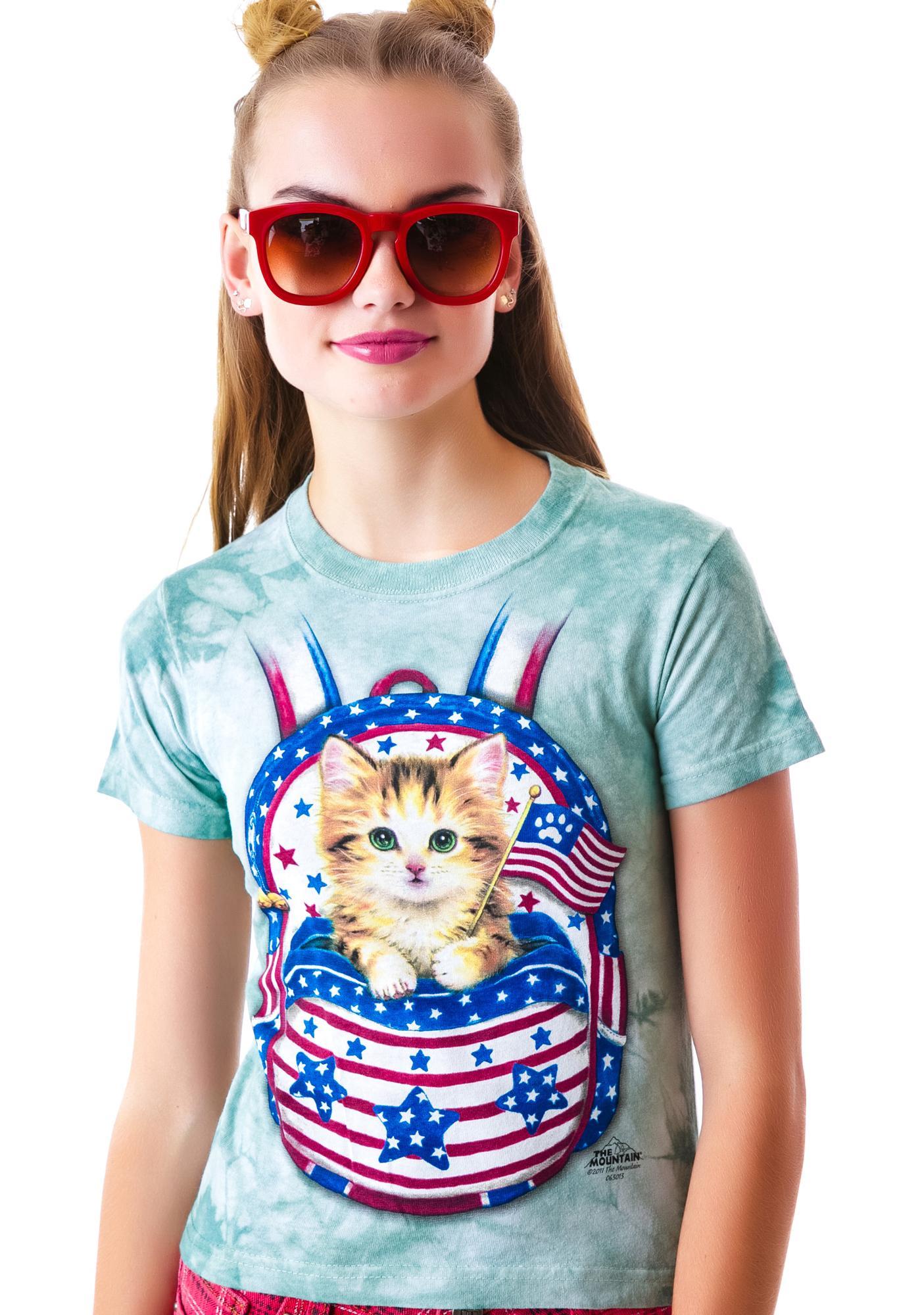 Patriotic Pussy Backpack Tee