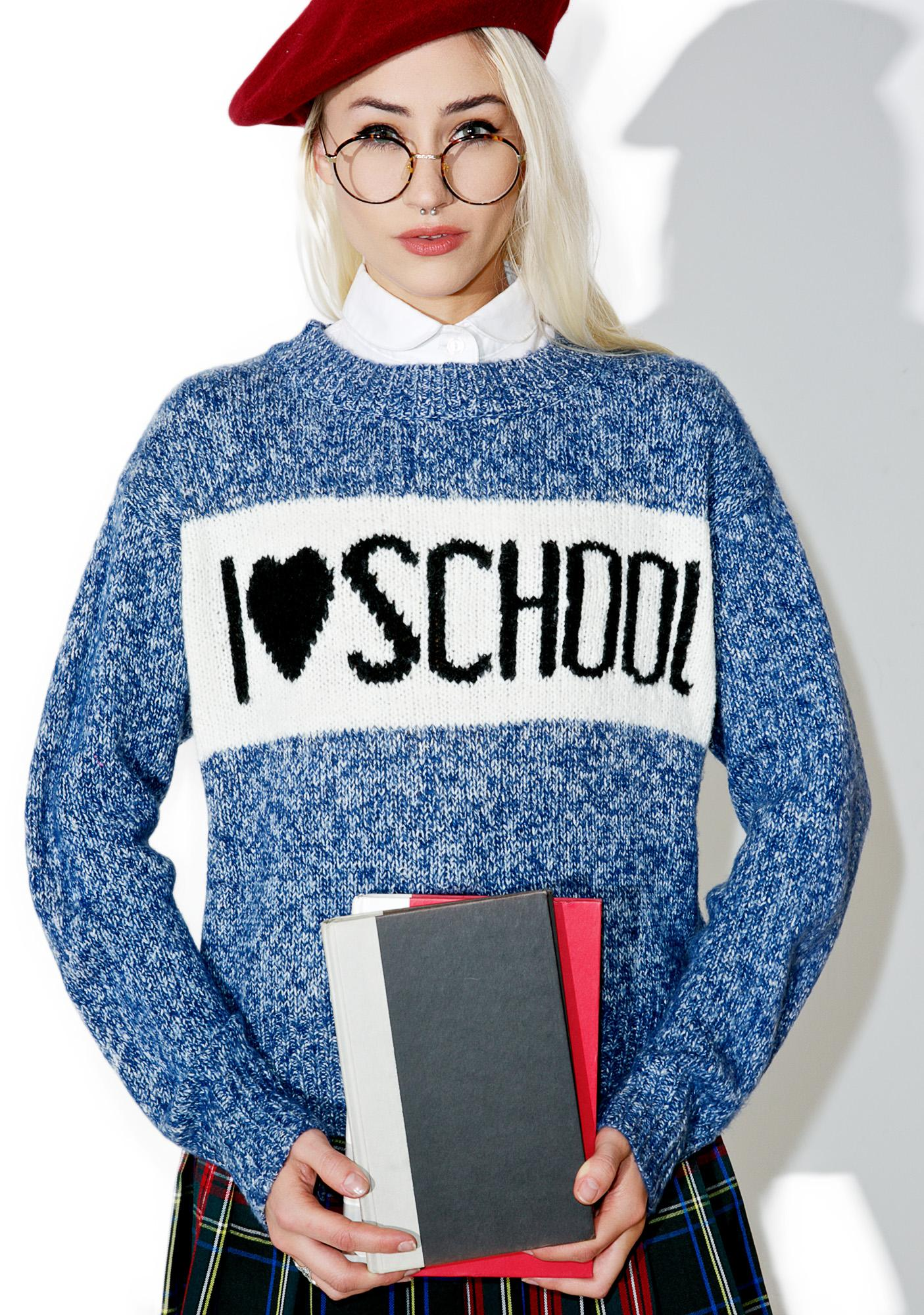 Wildfox Couture School Holiday Tardy Sweater