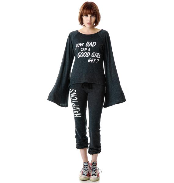 Wildfox Couture How Bad She Get Hotel Room Layering Tee