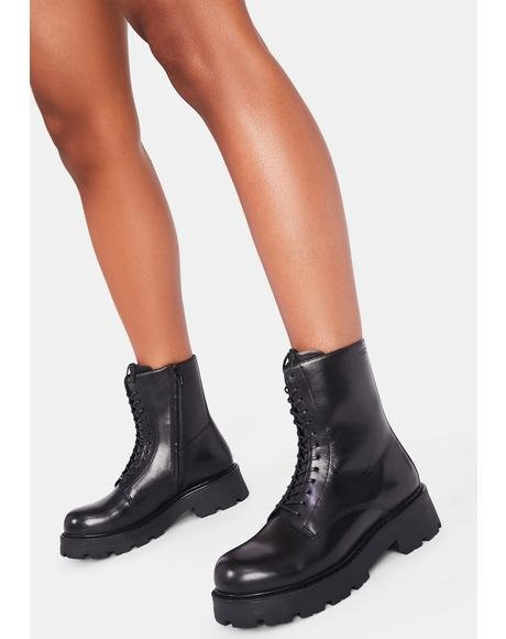 Cosmo 2.0 Lace Up Ankle Boots