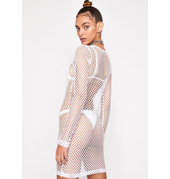 Pure Toxic Trance Fishnet Dress