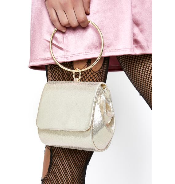 Lady Deluxe O-Ring Clutch