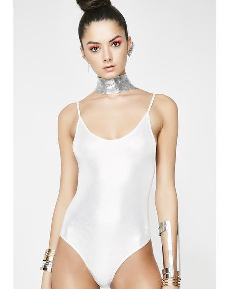 Chrome Knock Out Tank Bodysuit