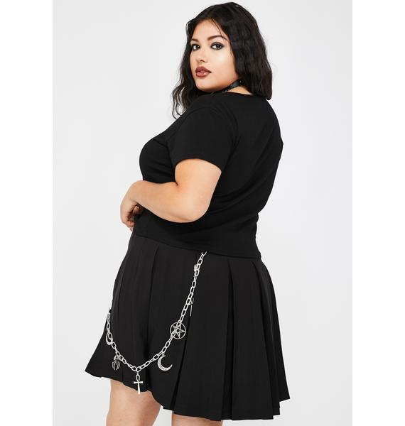 Dolls Kill x The Craft The Witching Hour Pleated Skirt