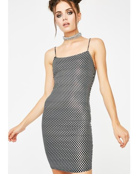 Money Magnet Mini Dress