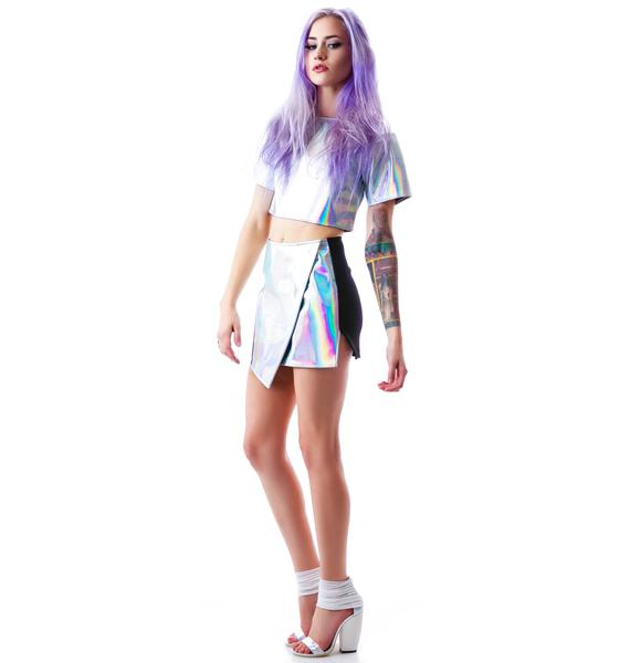 UNIF Meta Skirt