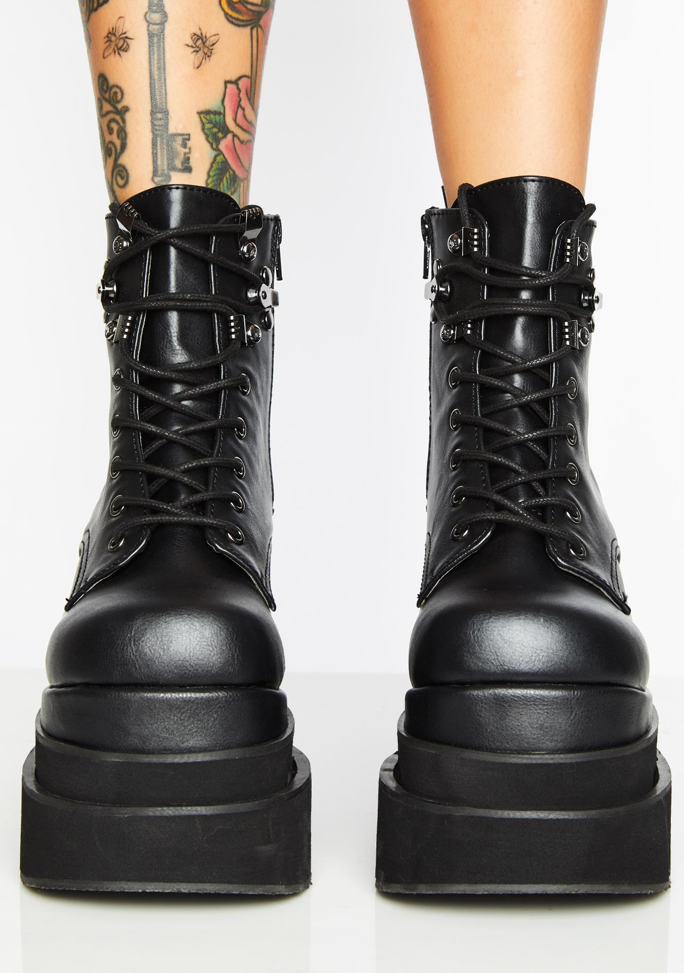 Demonia Eternal Night Platform Boots