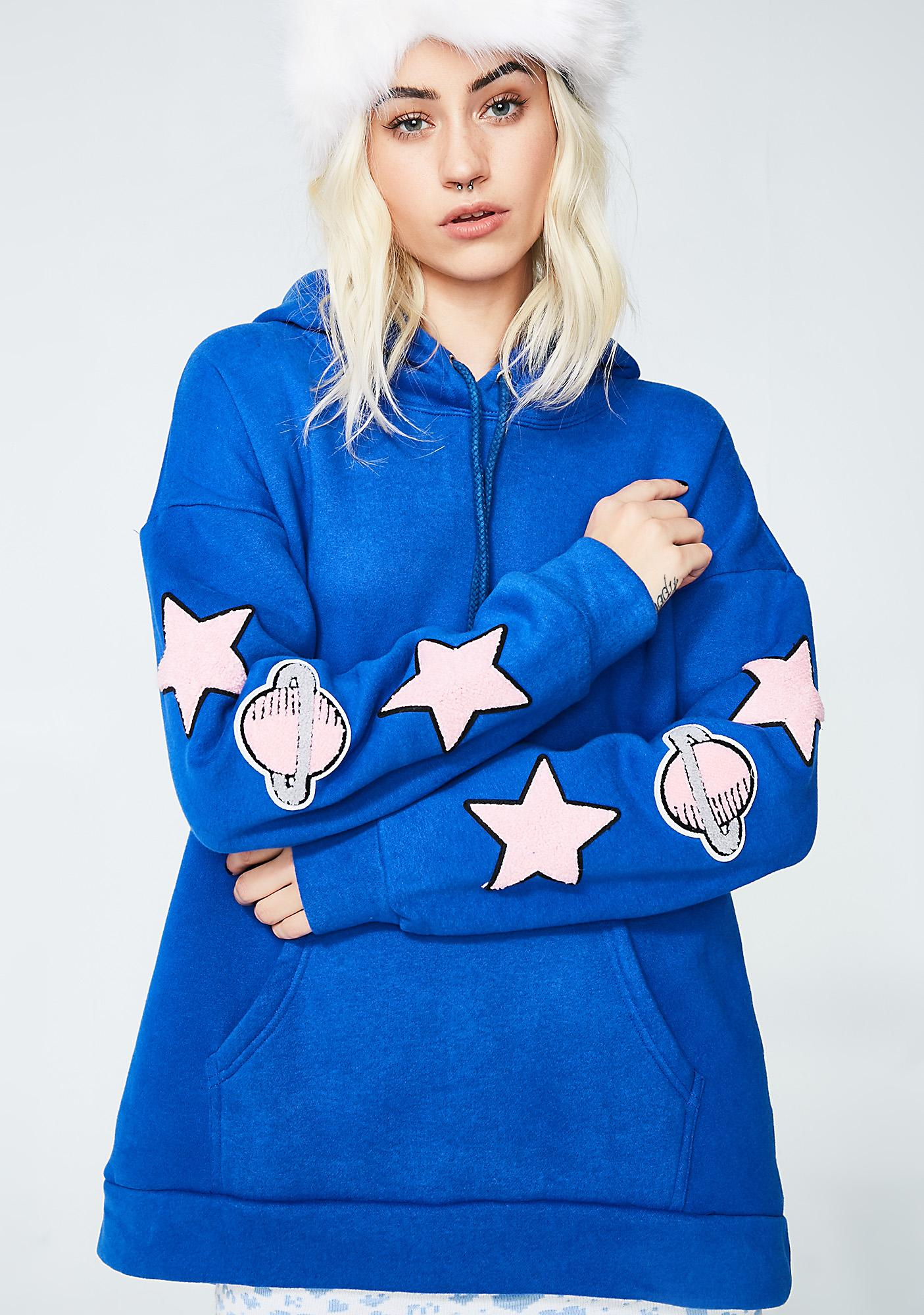 Glamorous Space Patch Hoodie
