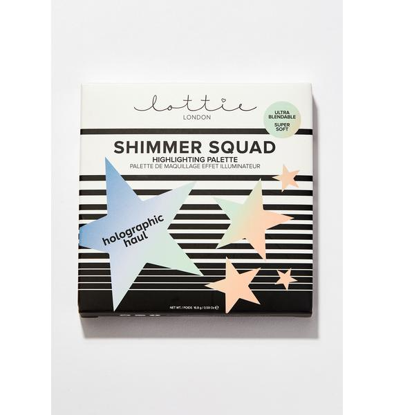 Lottie London Shimmer Squad: Holographic Haul