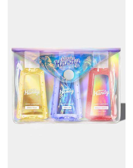 Magic Pouch Hand Sanitizer Kit