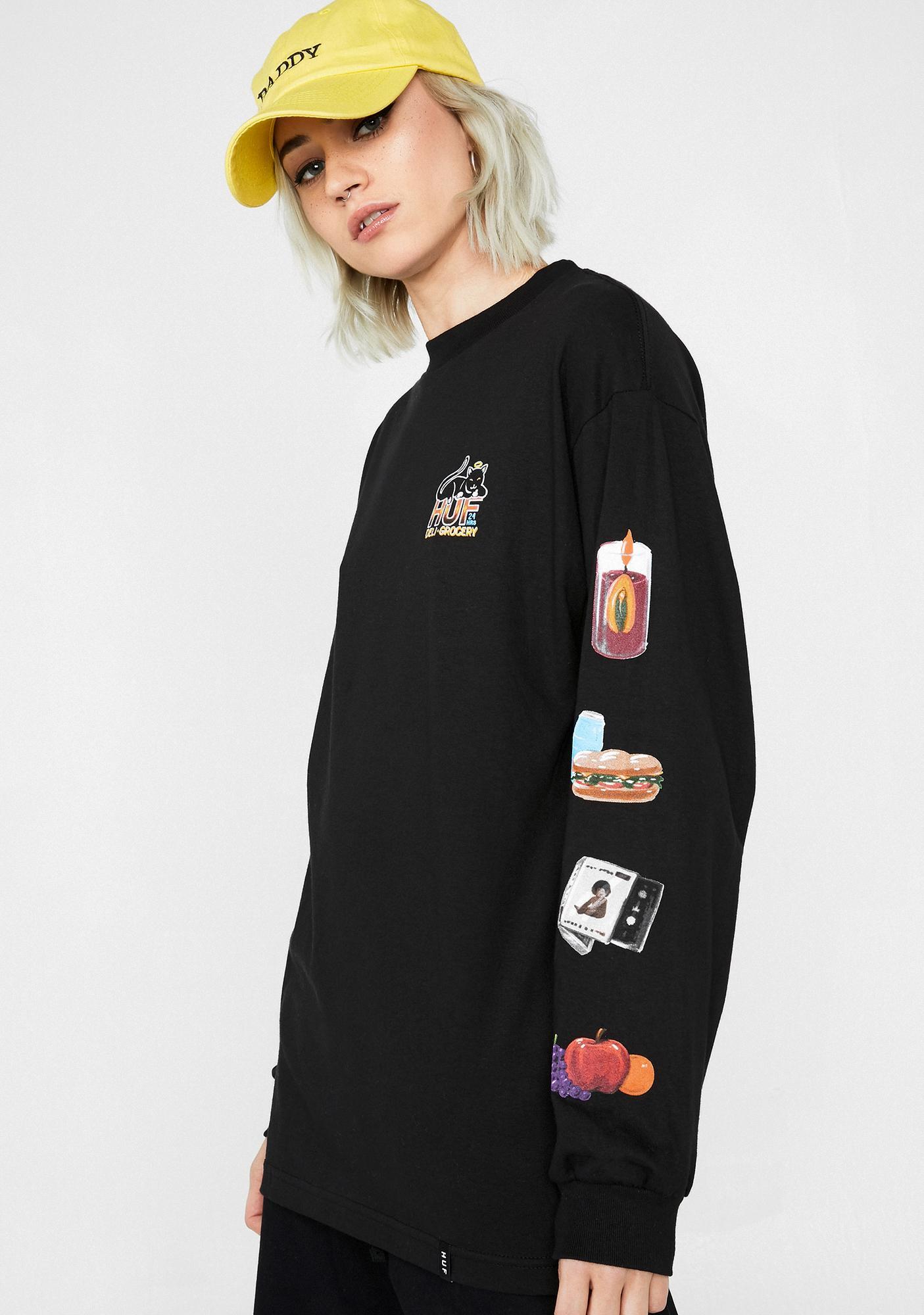 c33e1a66 HUF Bodega Long Sleeve T-Shirt | Dolls Kill