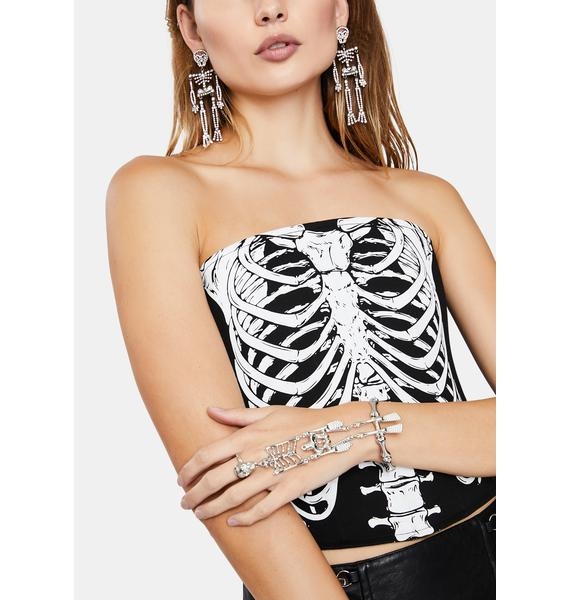 Sticks N Bones Skeleton Hand Cuff