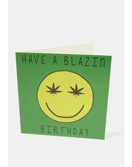 Have A Blazin' Birthday Card