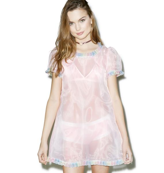 Melonhopper Life Is But A Dream Sheer Dress