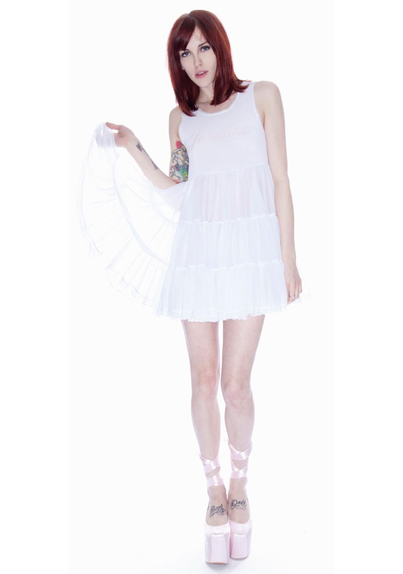 Wildfox Couture Flower Girl Pony Slip