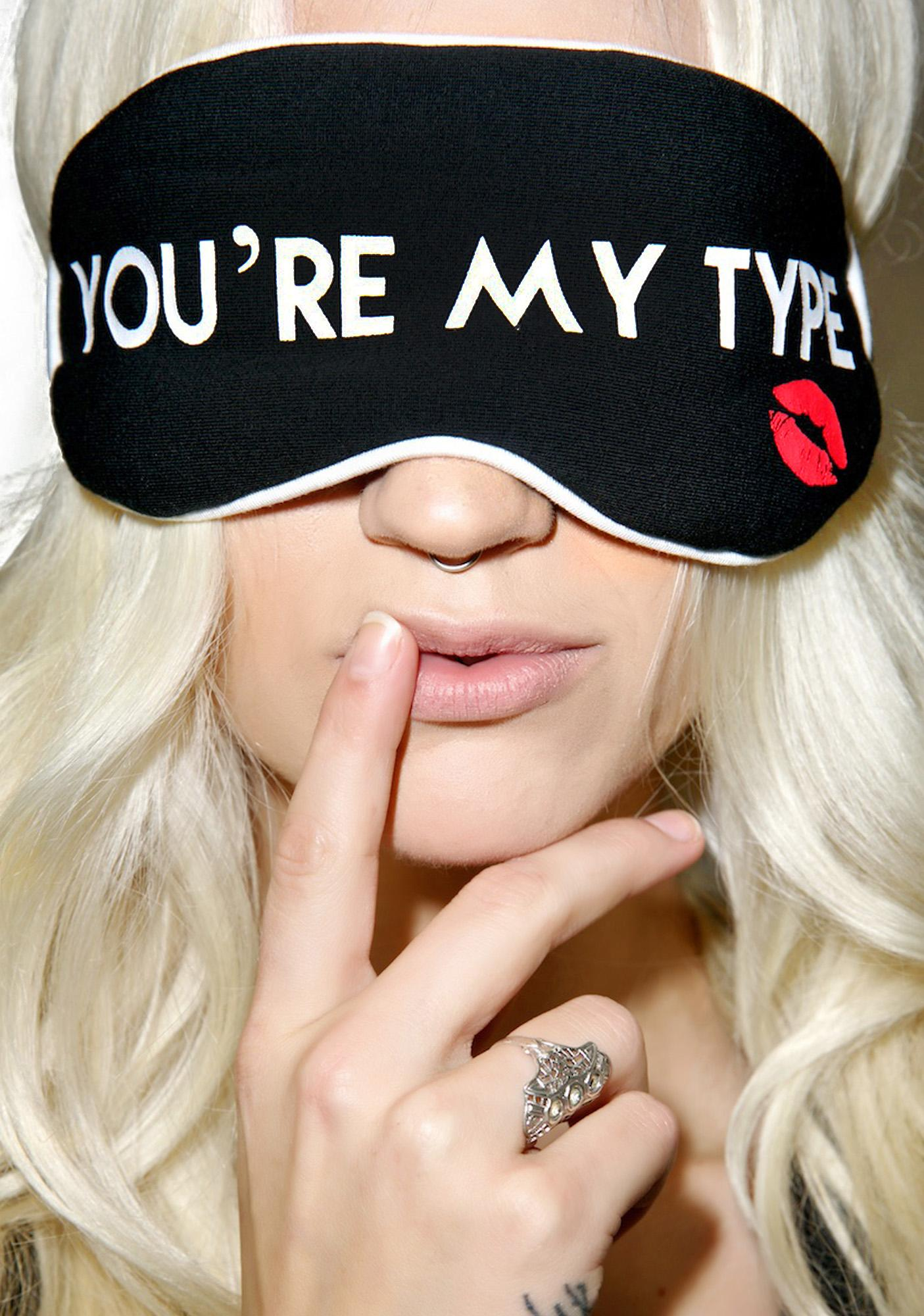 Wildfox Couture You're My Type Eye Mask